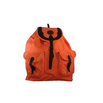 mochila de caza grande en naranja