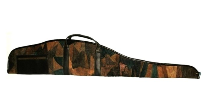 Funda rifle piel combinada